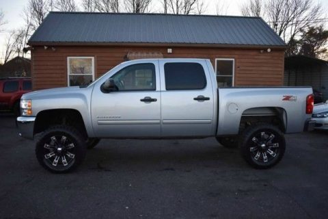 nice mileage 2012 Chevrolet Silverado 1500 pickup 4×4 for sale