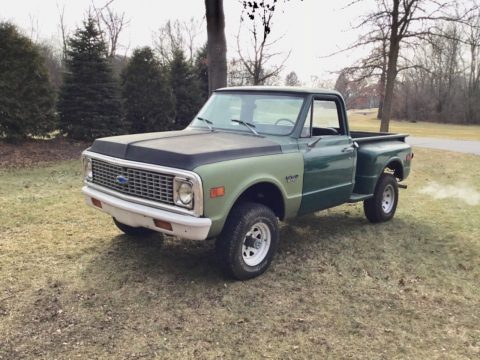 project 1972 Chevrolet C10 Shortbed Stepside 4×4 for sale