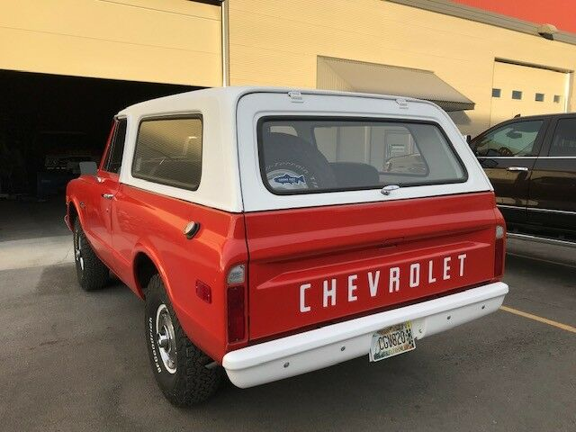 renewed 1972 Chevrolet Blazer K5 4×4