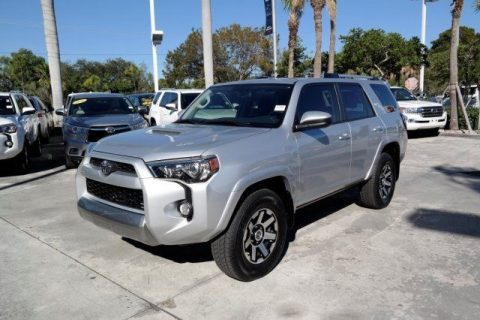 very low miles 2018 Toyota 4runner TRD 4×4 for sale