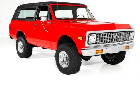 very nice 1972 Chevrolet Blazer K5 4×4 for sale