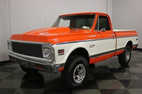 very nice 1972 Chevrolet Pickups Super Cheyenne pickup 4×4 for sale