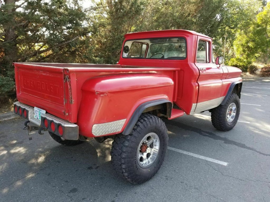 custom 1963 Chevrolet C/K Pickup 2500 4×4