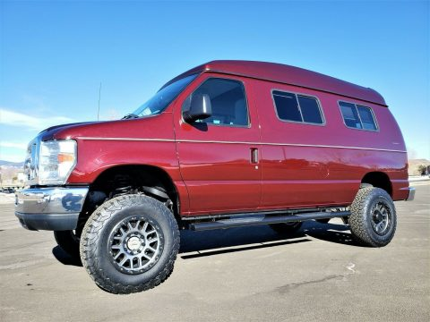 low miles 2010 Ford E Series Van Timberline Conversion 4×4 for sale