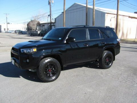 low miles 2018 Toyota 4runner TRD Pro 4×4 for sale
