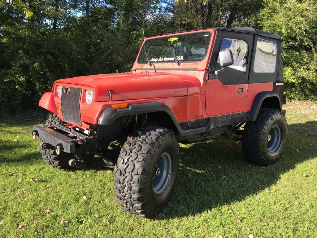 new soft top 1990 Jeep Wrangler 4×4