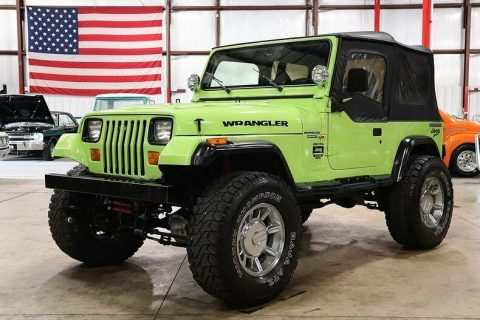 rebuilt engine 1990 Jeep Wrangler Sport 4×4 for sale