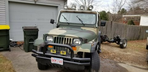 solid 1992 Jeep Wrangler 4×4 for sale