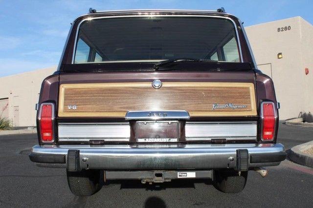 well serviced 1990 Jeep Grand Wagoneer 4×4