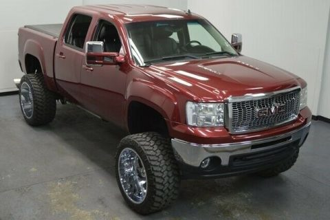 badass 2013 GMC Sierra 1500 SLT pickup 4×4 for sale