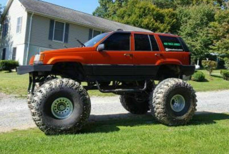 custom monster 1995 Jeep Grand Cherokee 4×4