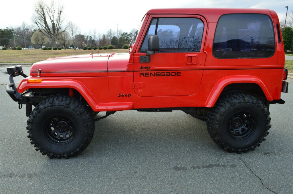 fully restored 1994 Jeep Wrangler Renegade 4×4