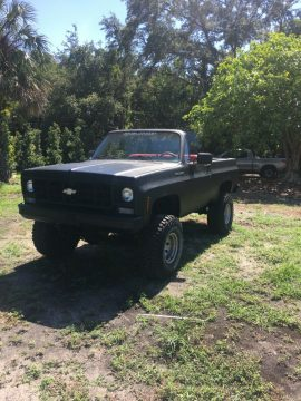 lifted 1975 Chevrolet K5 Blazer pickup 4×4 for sale