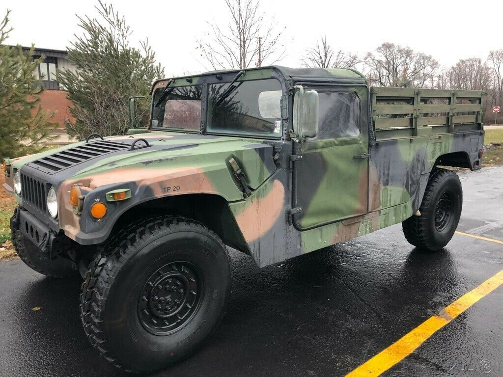 low miles 1998 AM General Hmmwv M998 4×4