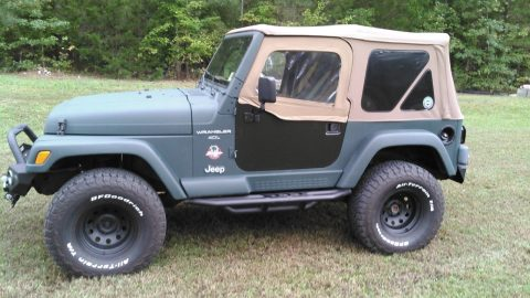 new paint 1997 Jeep Wrangler 4×4 for sale