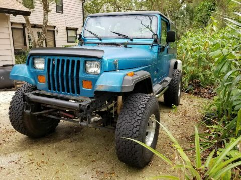 new parts 1994 Jeep Wrangler Black 4×4 for sale