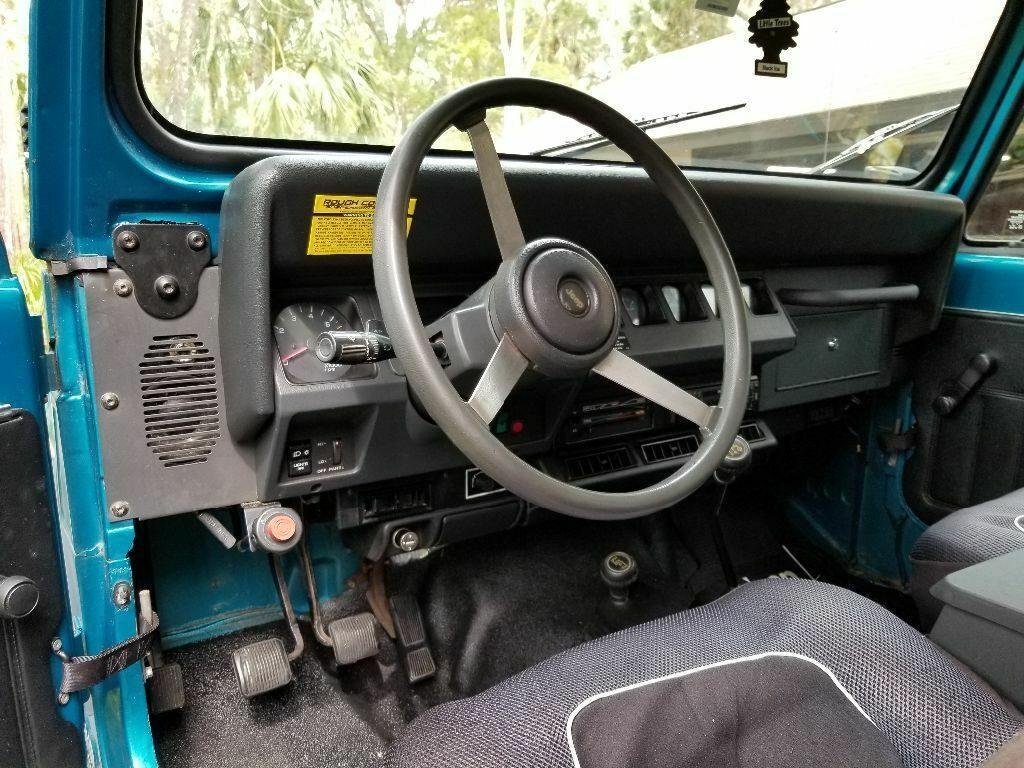 new parts 1994 Jeep Wrangler Black 4×4