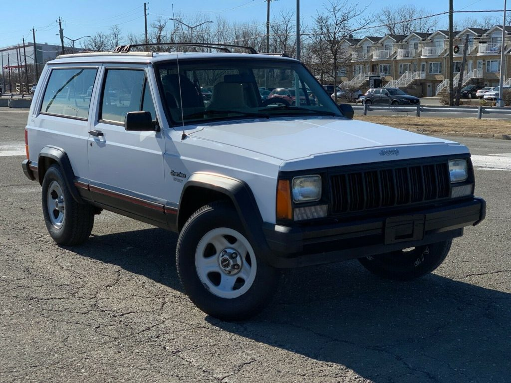 rare 1995 Jeep Cherokee Sport 2 DOOR 4×4