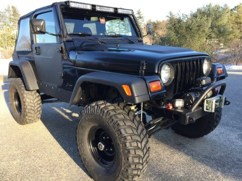restored 1999 Jeep Wrangler new parts 4×4 for sale