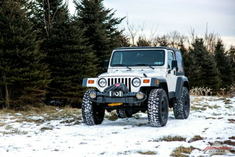 super clean 1999 Jeep Wrangler HEMI Rubicon 4×4 for sale