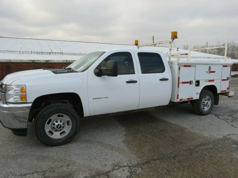 utility bed 2013 Chevrolet Silverado 2500 crew cab 4×4 for sale