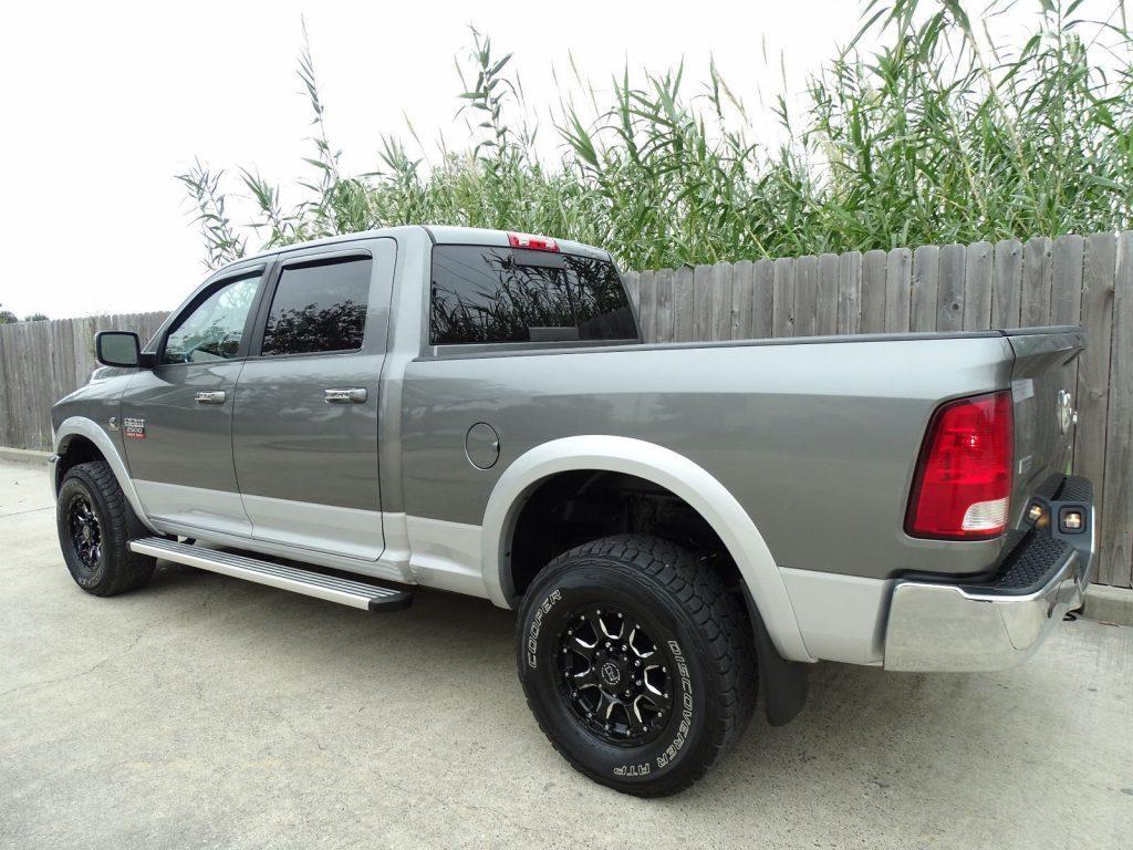 well equipped 2012 Dodge Ram 2500 Laramie 4×4