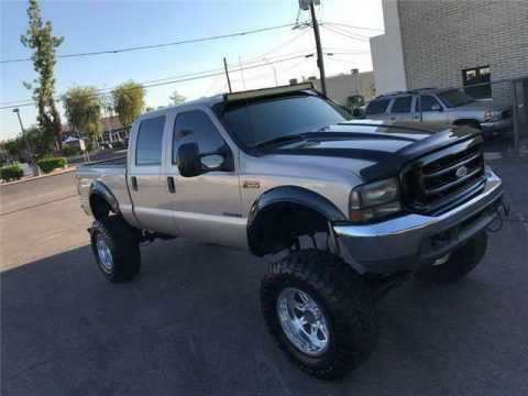 well modified 1999 Ford F 250 XLT 7.3 DIESEL 4×4 for sale
