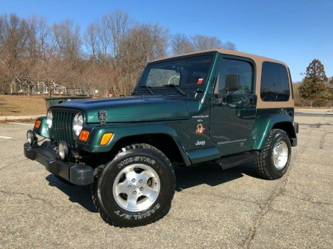 excellent shape 2000 Jeep Wrangler Sahara 4×4 for sale