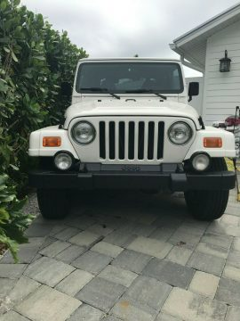 low miles 2000 Jeep Wrangler Sahara 4×4 for sale