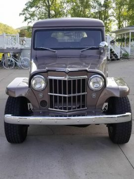 one of a kind custom 1962 Willys pickup 4×4 for sale