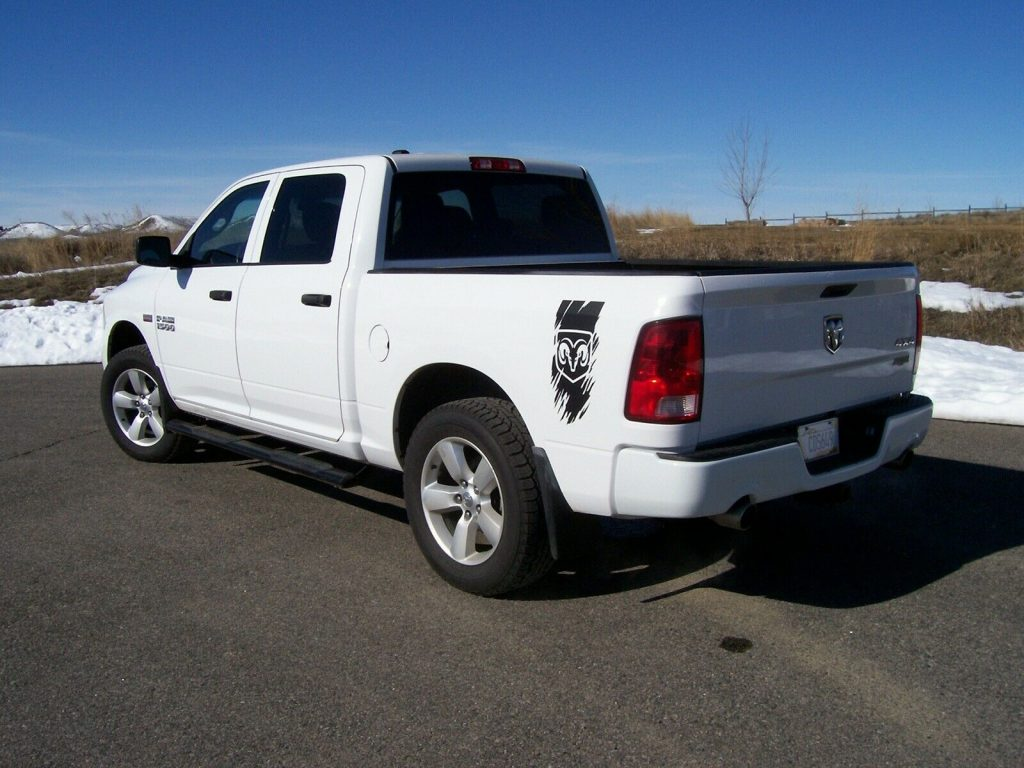 recently serviced 2014 Ram 1500 pickup 4×4