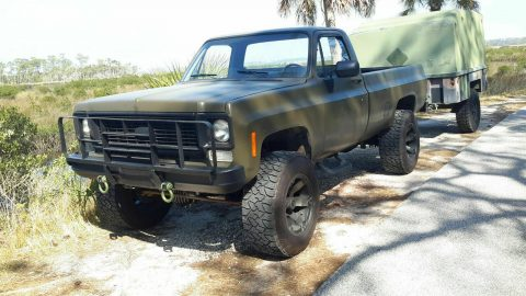 rust free 1985 Chevrolet M1008 CUCV Longbed Pickup 4×4 for sale