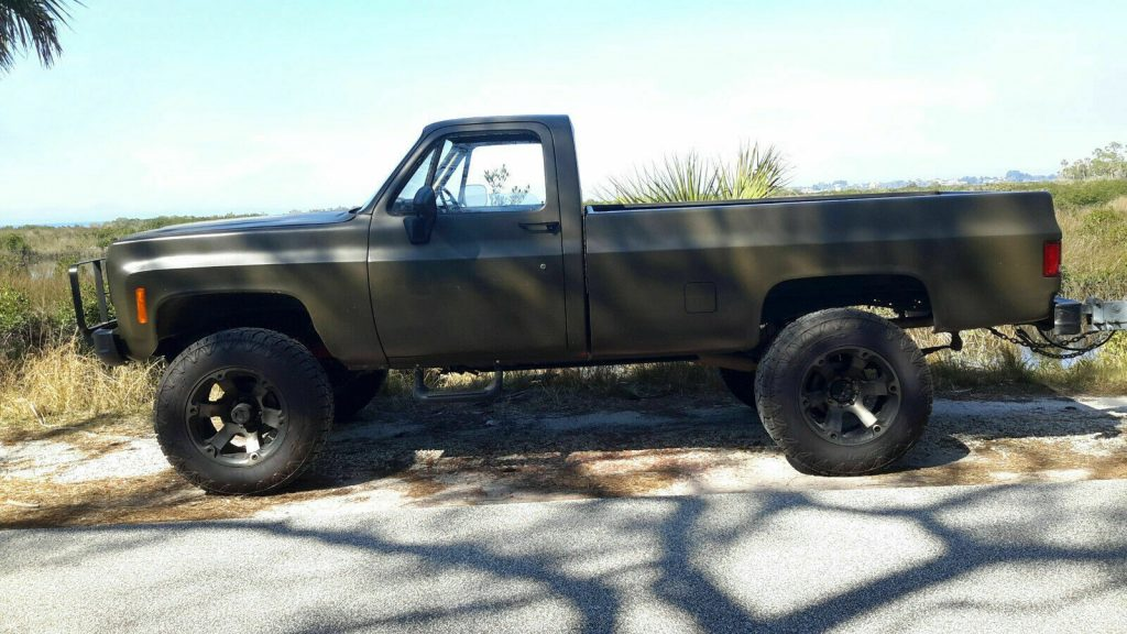 rust free 1985 Chevrolet M1008 CUCV Longbed Pickup 4×4