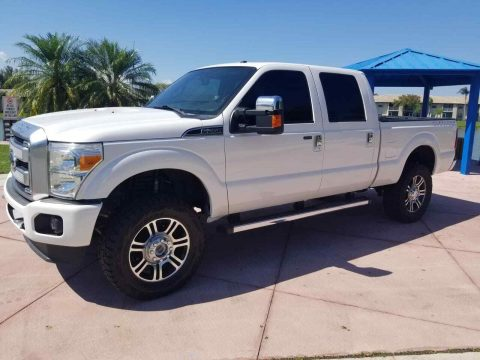 serviced 2014 Ford F 250 Platinum king Ranch Lariat 4×4 for sale