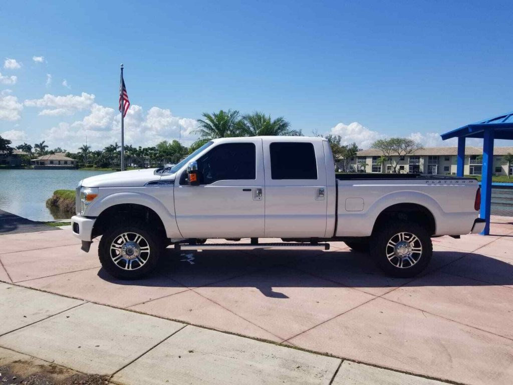 serviced 2014 Ford F 250 Platinum king Ranch Lariat 4×4