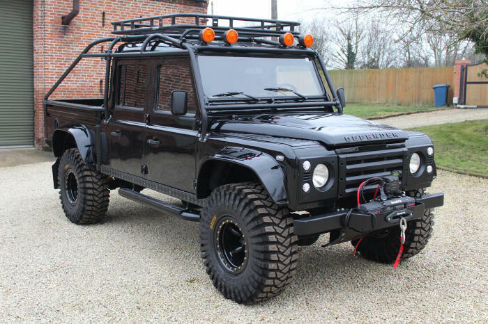 wonderful 1994 Land Rover Defender 130 Spectre 007 4×4