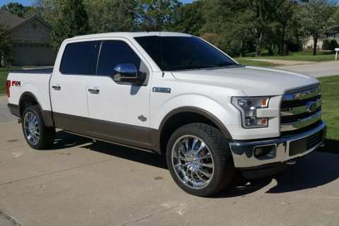 clean 2015 Ford F 150 King Ranch 4×4 for sale