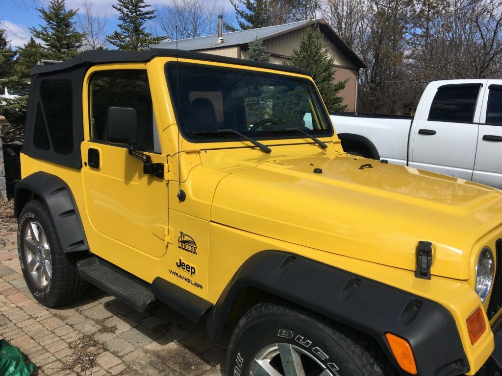 new top 2001 Jeep Wrangler 4×4