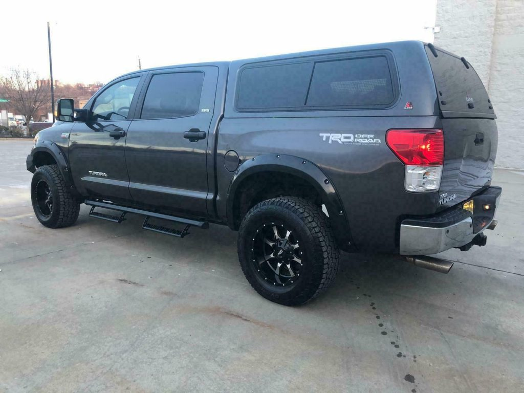 nicely modified 2011 Toyota Tundra TRD SuperCharged 4×4