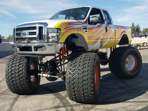 real classic 2008 Ford F 250 Overtime Monster Truck 4×4 for sale