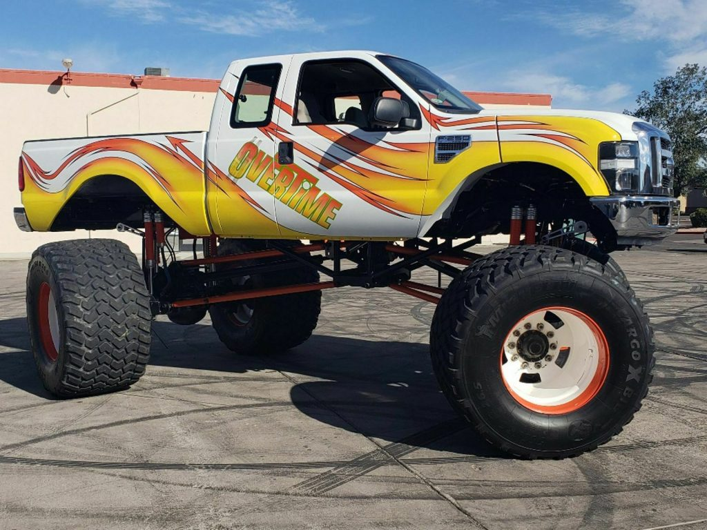 real classic 2008 Ford F 250 Overtime Monster Truck 4×4