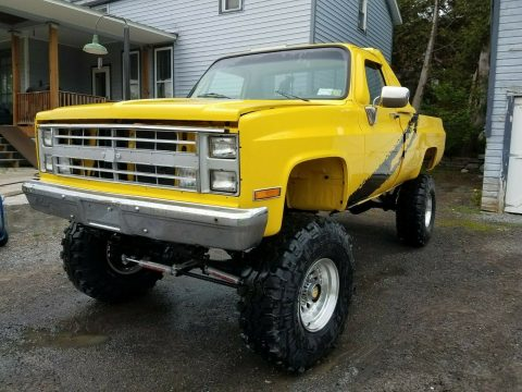 restored 1985 Chevrolet C/K Pickup 2500 K10 4×4 for sale