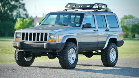 serviced 2001 Jeep Cherokee DAS Stage 2 4×4 for sale