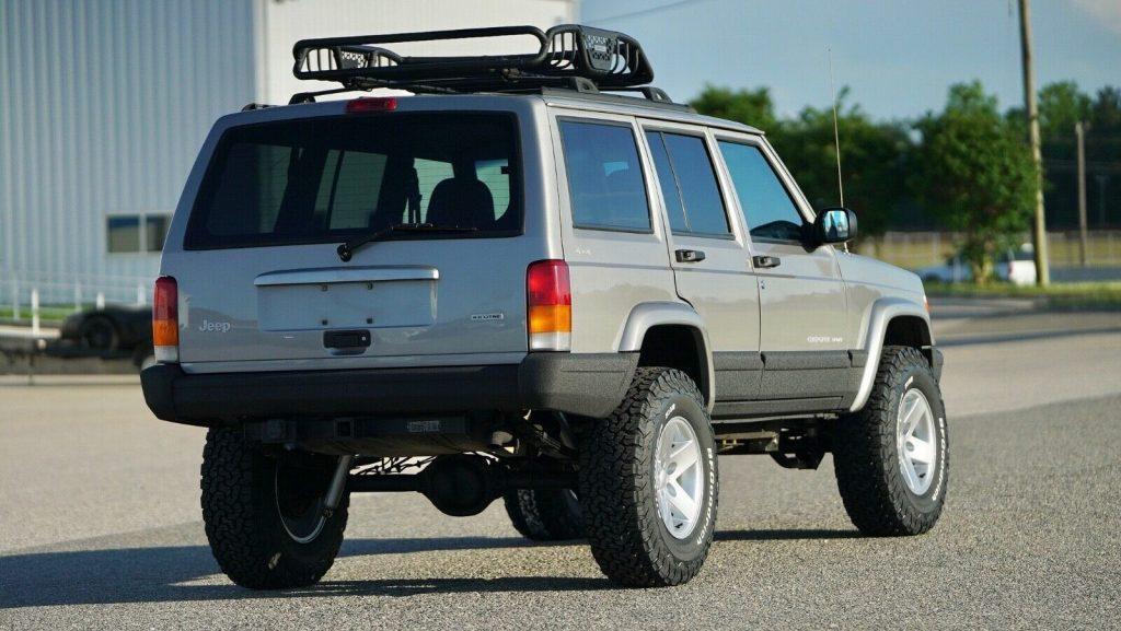 serviced 2001 Jeep Cherokee DAS Stage 2 4×4