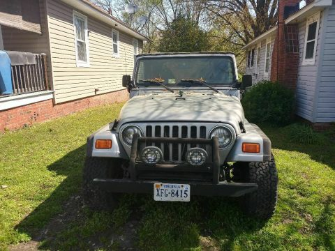 solid 2001 Jeep Wrangler 4×4 for sale