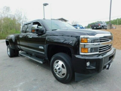 well equipped 2015 Chevrolet Silverado 3500 High Country 4×4 for sale