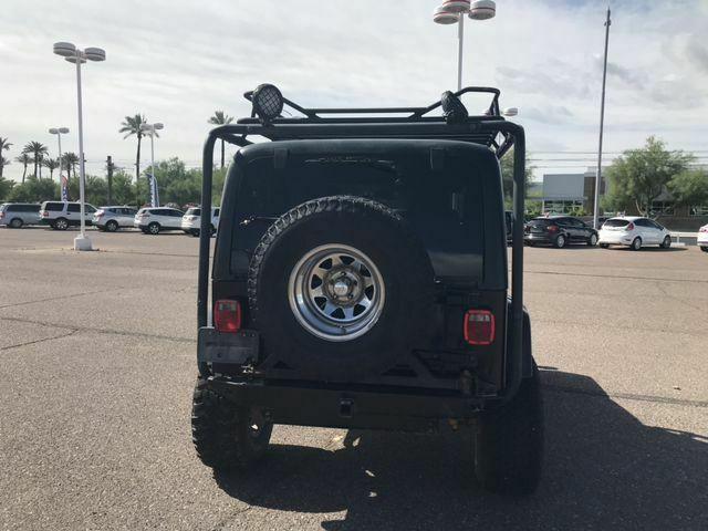 clean 2003 Jeep Wrangler Rubicon Sport Utility 4×4
