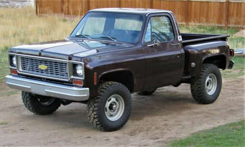 customized 1974 Chevrolet C 10 pickup 4×4 for sale