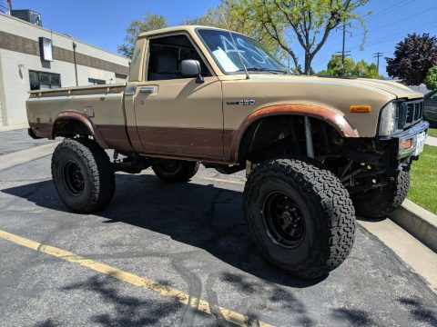 fuel injected 1979 Toyota SR5 Pickup 4×4 for sale