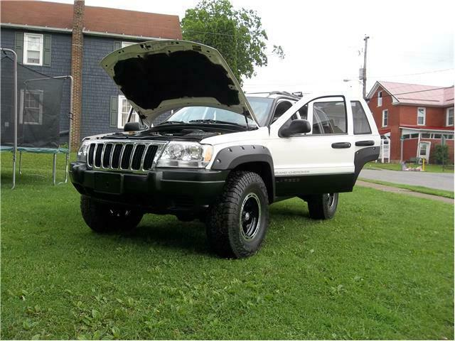 fully loaded 2003 Jeep Grand Cherokee 4×4